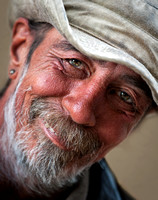Jimmy, A Homeless man, Jackson Square, New Orleans, Louisiana