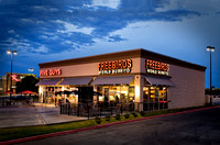 "Freebirds And Five Guys Are Providing The ""Dining Invitation"" Feel That The Owner Was Looking For In This Commercial Architectural Photograph By Brian Buckner Photography, Shreveport, Louisiana."