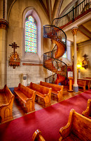 Loretto Chapel Miraculous Spiral Staircase, Loretto Chapel, Santa Fe, New Mexico By Brian Buckner Photography, Shreveport, Louisiana.